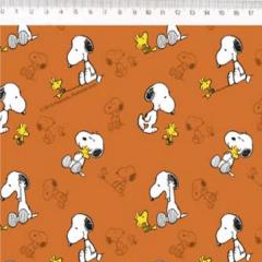 Tecido Tricoline Personagens Snoopy SN001C01