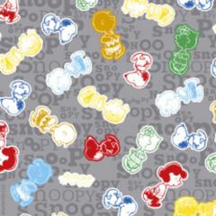 Tecido Tricoline Personagens Snoopy SN012C02