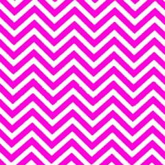 Tecido Tricoline Estampado 100%Algodão Chevron Pink 1101-08