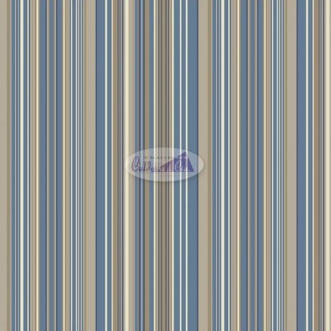 Tecido Tricoline Estampado 100% Algodão LISTRADO 180161-001 (largura: 50cm X 1,50 MT)