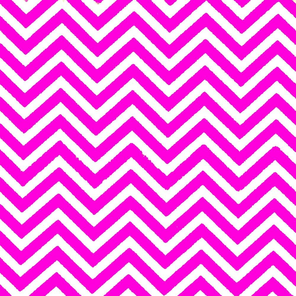 Tecido Tricoline Estampado 100%Algodão Chevron Pink 1101-0 (largura: 50cm X 1,50mt)