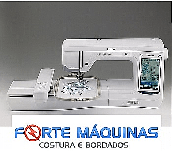 Bordadeira Brother BP2150 area de bordado 20X30cm