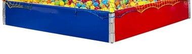 Tabua para piscina de Bolinhas 1,50 X 1,50