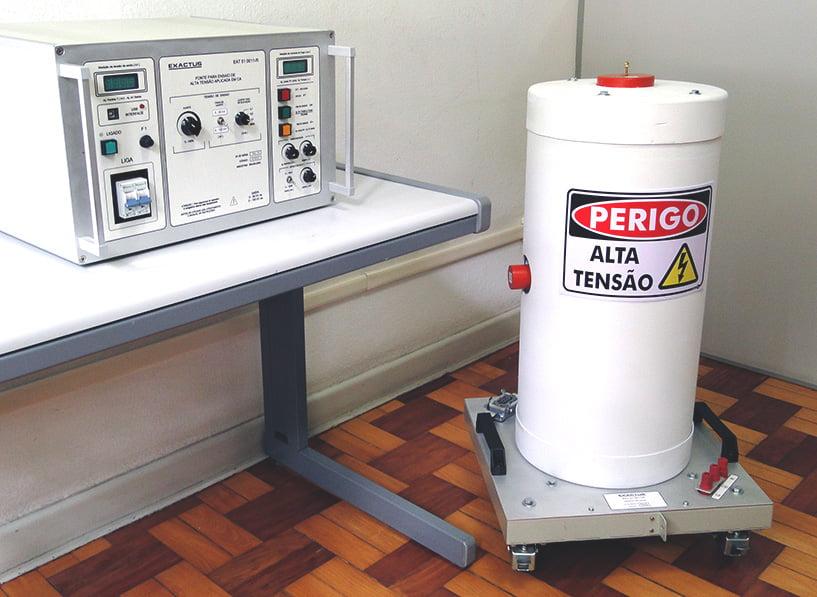 EAT-CIL 10-050-11-BR  -  Conjunto para ensaio de AT aplicada em ca 50kV-100mA Manual  - HIPOT